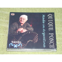 Quique Ponce Made In Argentina Cd Sellado