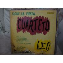 Tapa Sin Disco Cuarteto Leo Sigue La Fiesta