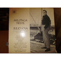 Disco Vinilo Julio Sosa - Milonga Triste