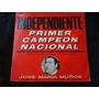 Vinilo Independiente 1º Campeon Nacional