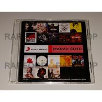Promo (cd) Fito Paez Dante Serrat Thalia Attaque Hendrix