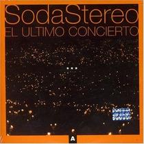 Soda Stereo El Ultimo Concierto A Oferta Gustavo Cerati