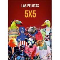 Las Pelotas 5x5 (dvd +cd)