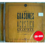 Guasones Acustico Gran Rex ( Cd + Dvd )