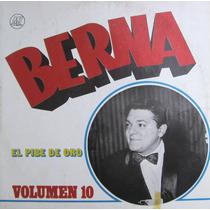 Berna El Pibe De Oro 1973 Lp Vinilo Impecable Vol. 10