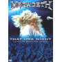 Megadeth That One Night Live In Buenos Aires Dvd Metallica