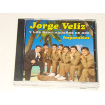 Jorge Veliz Imparables Cd Nuevo Sellado