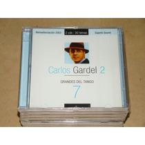 Grandes Del Tango Carlos Gardel 2 Cd Nuevo Sellado