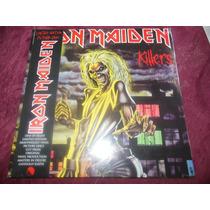 Iron Maiden Killers Picture Disc 2012 Nuevo Sellado