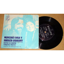 Mercedes Sosa Horacio Guarany Recital Al Cantor Simple Arg