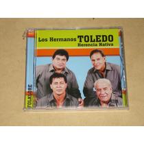 Los Hermanos Toledo Herencia Nativa Cd Nuevo Sellado