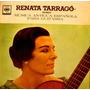Guitarra-renata Tarrago-musica Española Antigua-vinilo