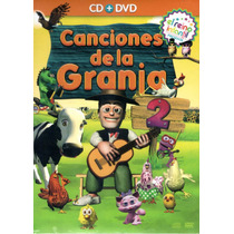 Las Canciones De La Granja Volumen 2 ( Cd + Dvd )