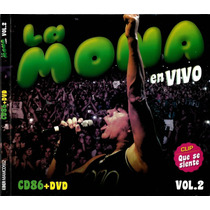 La Mona Jimenez En Vivo Vol 2 Cd+dvd Open Music-wilde