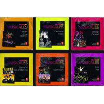 Grandes Musicales Lote X 6 Cds Nuevos Chicago Evita Cats