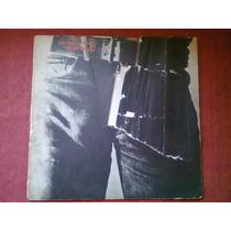 The Rolling Stones Sticky Fingers Vinilo Nacional 1a Edicion