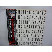 The Rolling Stones In The Seventies Vinilo Japones Con Obi