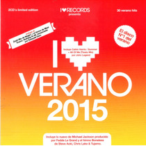 I Love Verano 2015 Varios Artistas Disponible 27/11