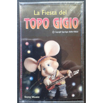 Casete Topo Gigio La Fiesta Nuevo Sellado
