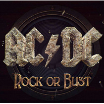 Ac/dc - Rock Or Bust + Dvd De Regalo Ya Disponible!! Origina