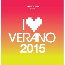Cd I Love Verano 2015. Cd Doble. Ya Disponible. Original