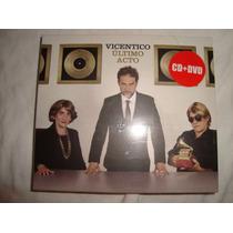 Vicentico Ultimo Acto Nuevo Cerrado Audio Cd+dvd Caballito