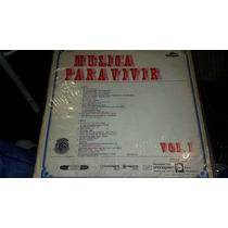 Disco Vinilo Varios Musica Para Vivir Vol 1 Vg ¬ La Plata