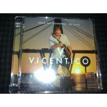 Vicentico - Solo Un Momento 2012 Cd+dvd Excelente Estado