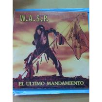 Disco De Wasp El Último Mandamiento Lp Vinilos Vendo