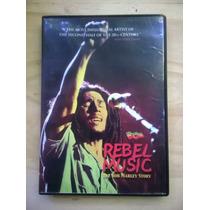 Dvd Bob Marley -rebel Music -story- $ 90 - Original 100%