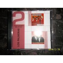 2 Cd En Uno.nuevos!!!!... Los Palmeras (originales)...