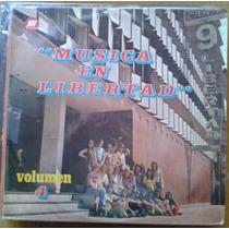 Vinilo Varios Artistas Musica En Libertad Vol 4