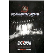 Sabroso Autentico En Vivo Cd + Dvd Disponible El 16/07/15