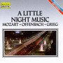 Mozart - Offenbach - Grieg A Little Night Music Cd Usado