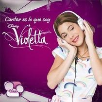 Cd Y Dvd Violetta Cantar Es Lo Que Soy 2012