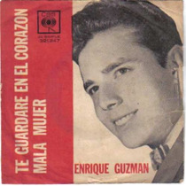 Enrique Guzman - Disco De Vinilo Simple