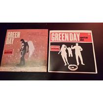 Lote De 2 7 Pulgadas Picture Disc De Green Day Importados!!