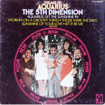 The 5th Dimension - The Age Of Aquarius - Lp Usa 1969 Soul