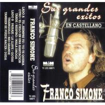 Franco Simone - 14 Grandes Éxitos - Cassette Sin Uso