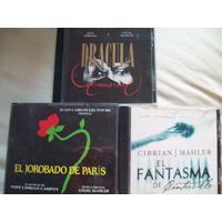 Angel Mahler Comedia Musical Fantasma Dracula Jorobado 4 Cds