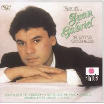 Juan Gabriel Cd Para Ti 1987 U.s.a Sus Mejores Exitos