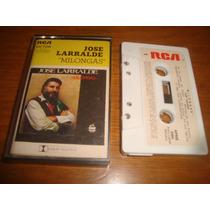 Jose Larralde - Milongas - Cassette