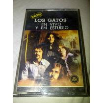 Los Gatos - En Vivo Y En Estudio 1987 Cassette De Coleccion