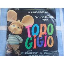 Disco Vinilo Simple Topo Gigio