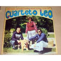 Cuarteto Leo Mi Vida Quiero Vivir Bailando Lp Argentino Pro