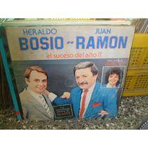 Heraldo Bosio Juan Ramon El Suceso Del Año Lp Vinilo 1988