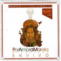 Marco Antonio Solis - Por Amor A Morelia ( Cd + Dvd ) 2015