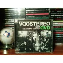 Soda Stereo Gira Me Veras Volver Dvd (2-dvd) Impecable!