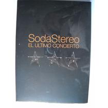 Soda Stereo El Ultimo Concierto Dvd +soda Cadillacs Virus