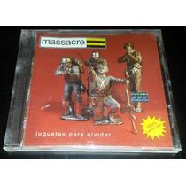 Massacre (cd) Juguetes Para Olvidar (arg) Muy Buen Estado